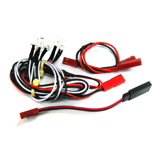 Yeah Racing Ultra Bright F/R LED Light Kit for 1/10 EP & GP