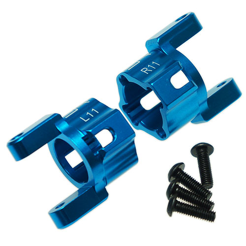 Yeah Racing Aluminum C Hub Carrier 11 Degree For Axial SCX10