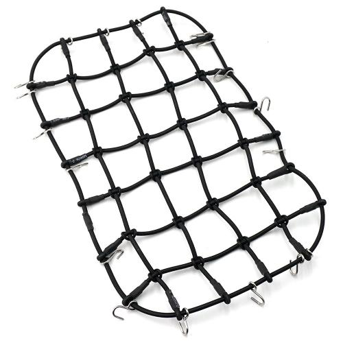Yeah Racing 1/10 Scale Accessory Luggage Net 250mm x 150mm Black For Traxxas TRX-4