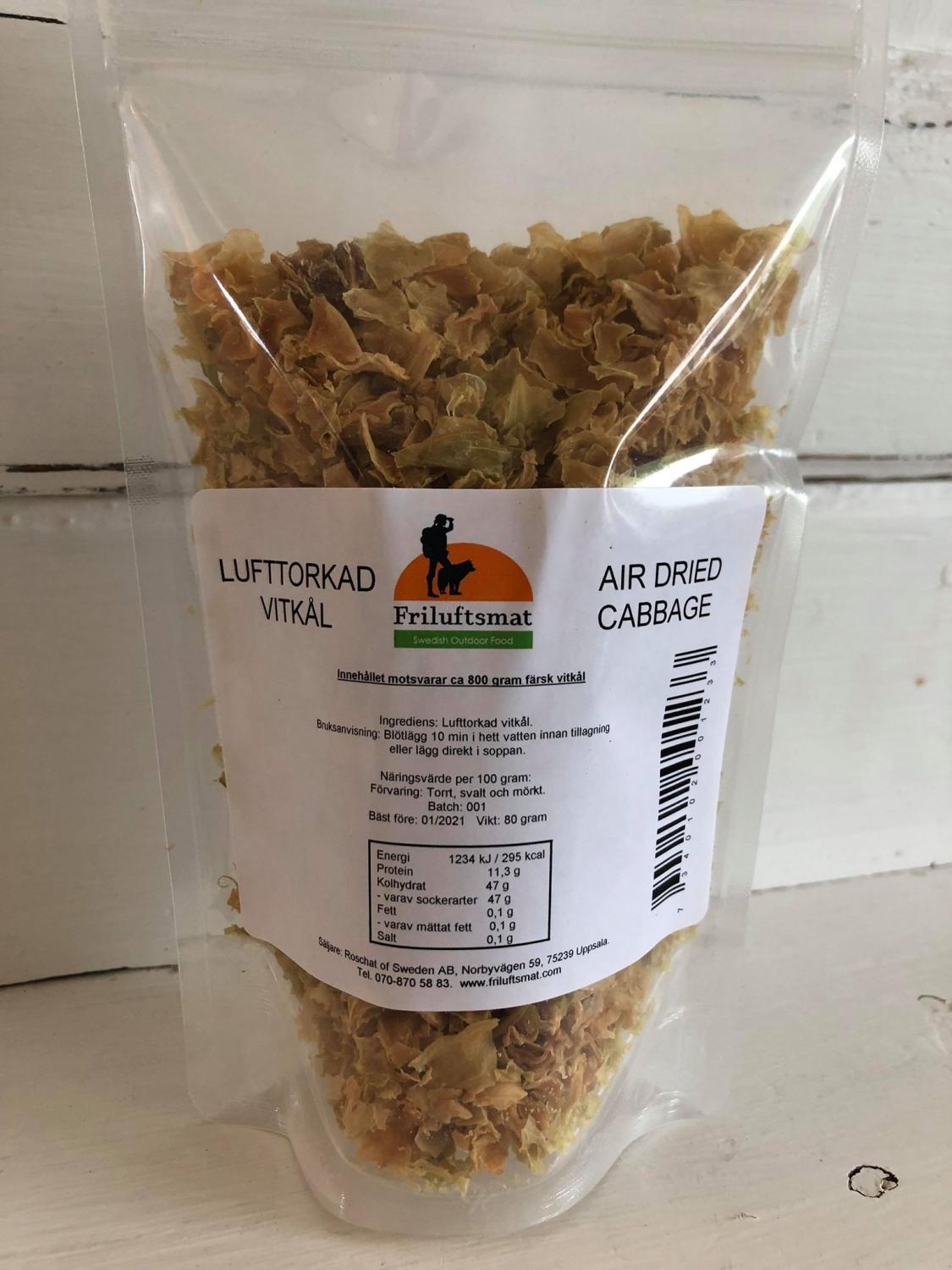 5-pack Air-dried Cabbage 80g