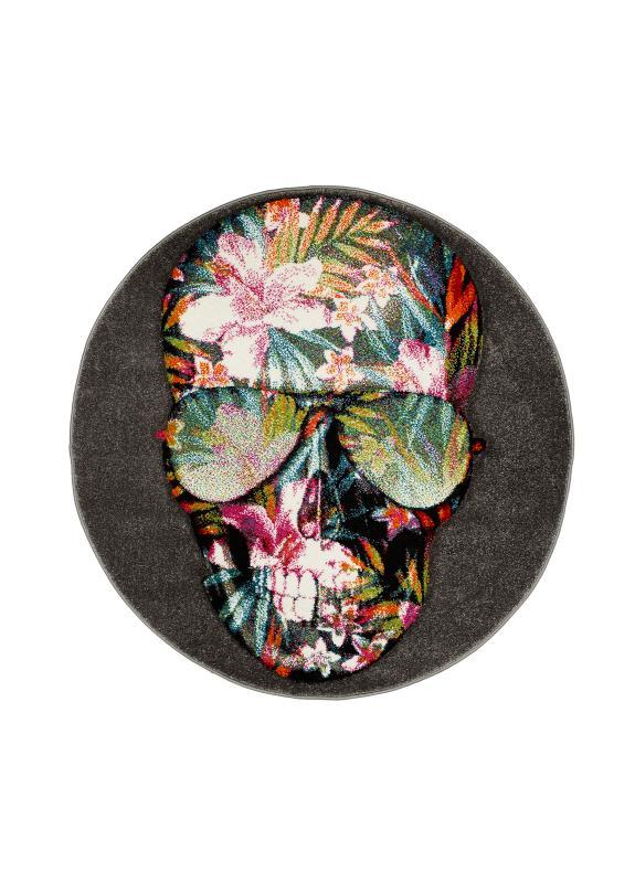 Cool Skull Grå Rund