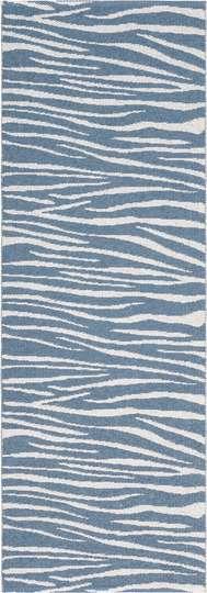 Zebra Blå