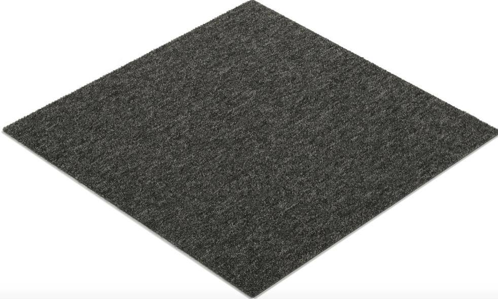 Quebec Grå Textilplatta 50x50