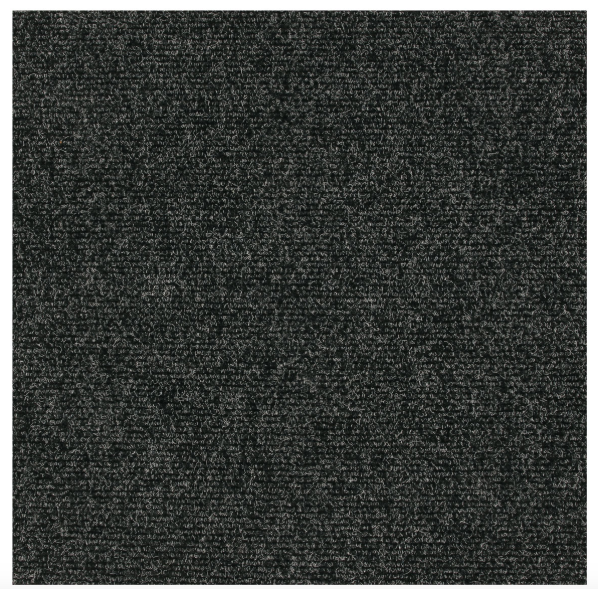 Cambridge Svart Textilplatta 50x50