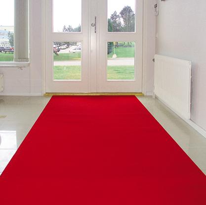 Röda Mattan - Fast bredd 133 , 200 & 400 cm