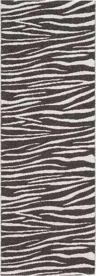 Zebra Svart