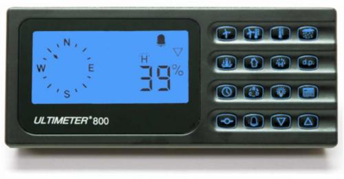 Vindmätare ULTIMETER 800, Display från www.safecast.se