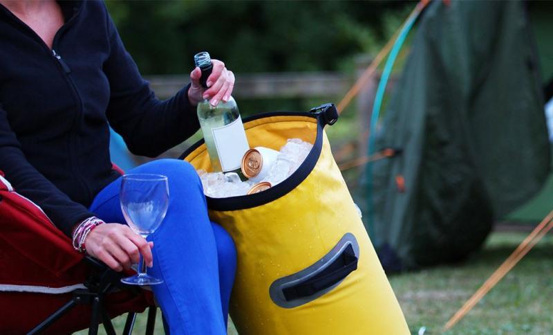 Kylbag 30 liter Waterproof - gul
