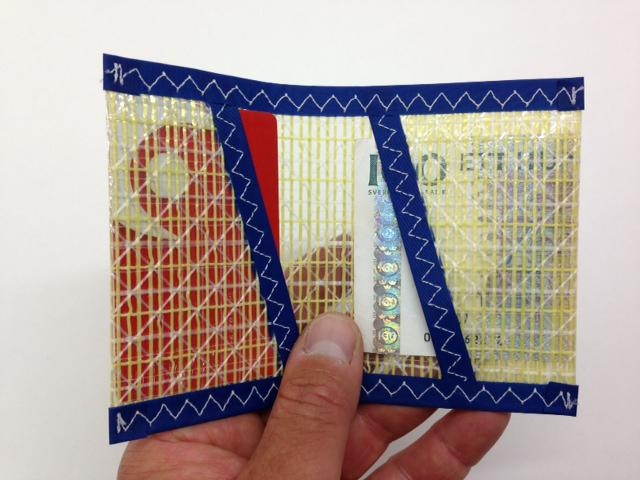 Plånbok Kevlar Blå