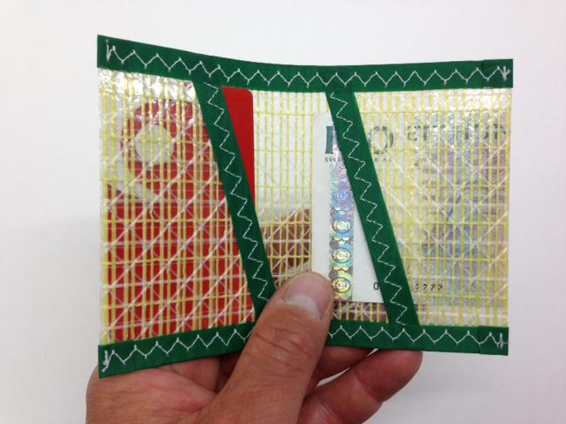 Plånbok Kevlar Grön