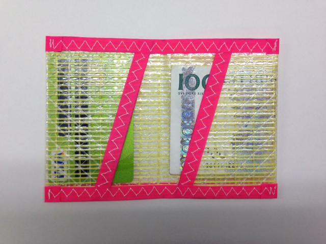 Plånbok Kevlar Rosa
