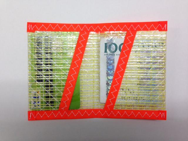 Plånbok Kevlar Orange
