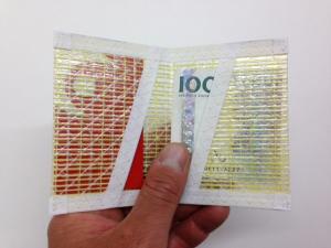 Plånbok Kevlar Vit