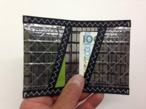 Plånbok Kolfiber Svart