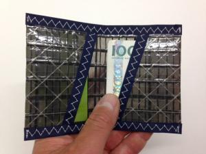 Plånbok Kolfiber Mörkblå