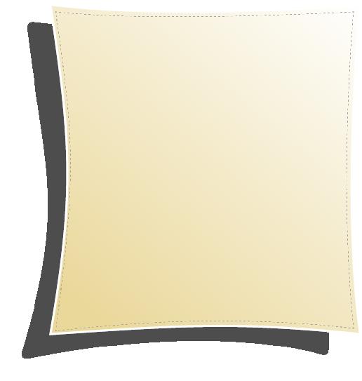 Solsegel - kvadratisk