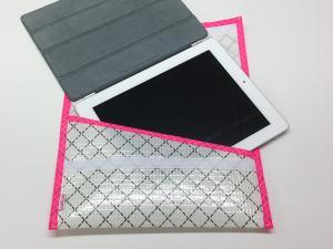 iPad-fodral Mylar Rosa