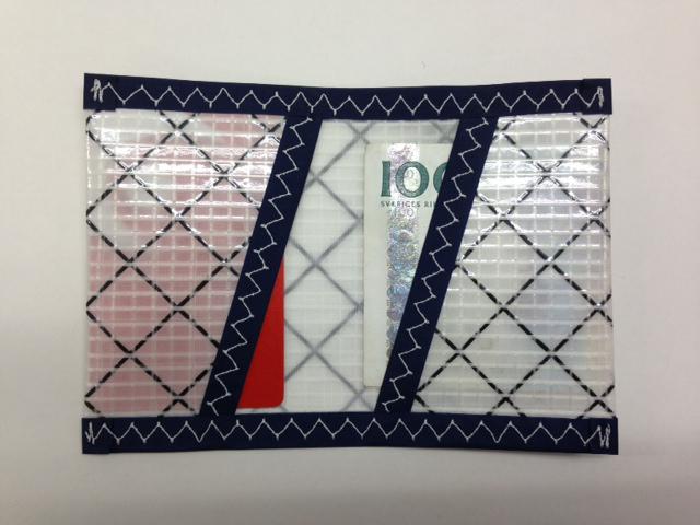 Plånbok Mylar Mörkblå