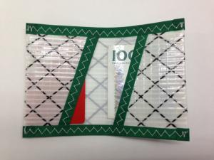 Plånbok Mylar Grön