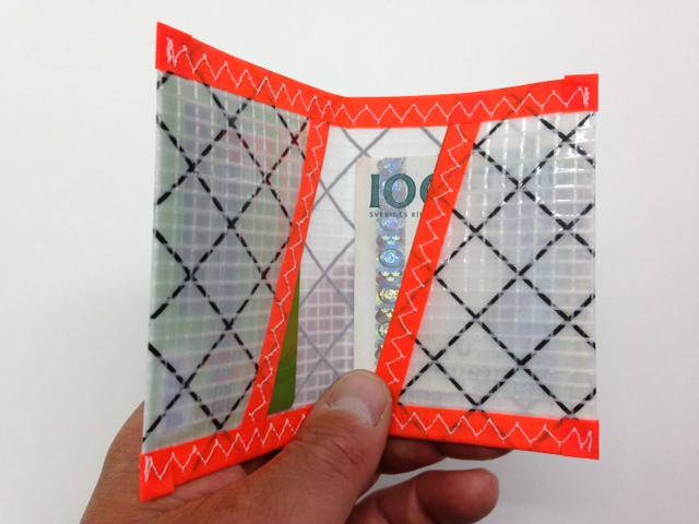 Plånbok Mylar Orange