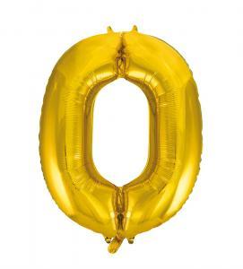 Folieballong 86 cm siffra 0