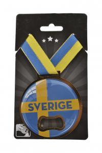 Medalj/Kapsylöppnare Sverige