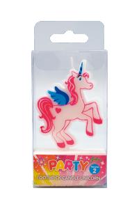 Tårtljus unicorn