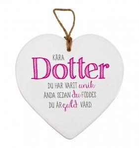 Budskapshjärta Dotter