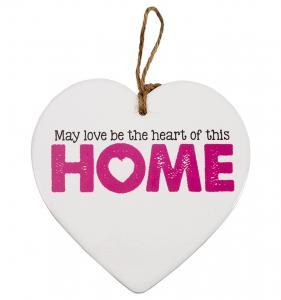Budskapshjärta Home