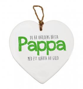 Budskapshjärta Pappa