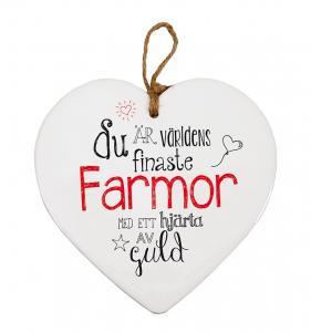 Budskapshjärta Farmor
