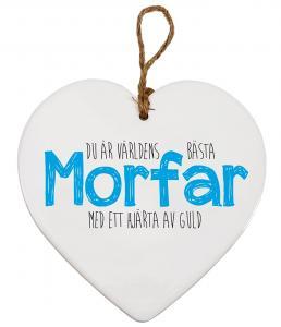 Budskapshjärta Morfar