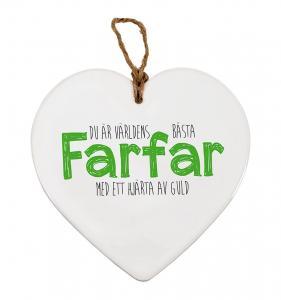 Budskapshjärta Farfar