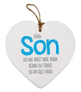Budskapshjärta Son