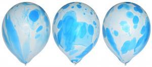 Ballonger 6-pack blå