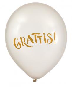 Ballonger 6-pack grattis