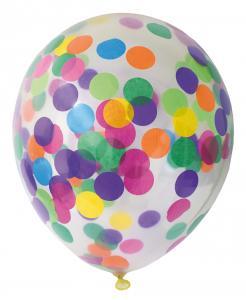 Ballonger 6-pack confetti mix