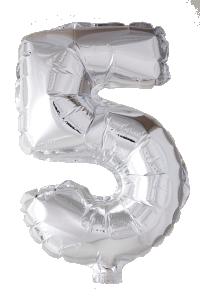 Folieballong 102 cm siffra 5