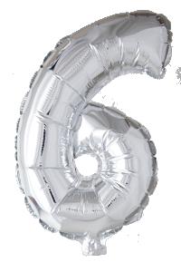 Folieballong 102 cm siffra 6