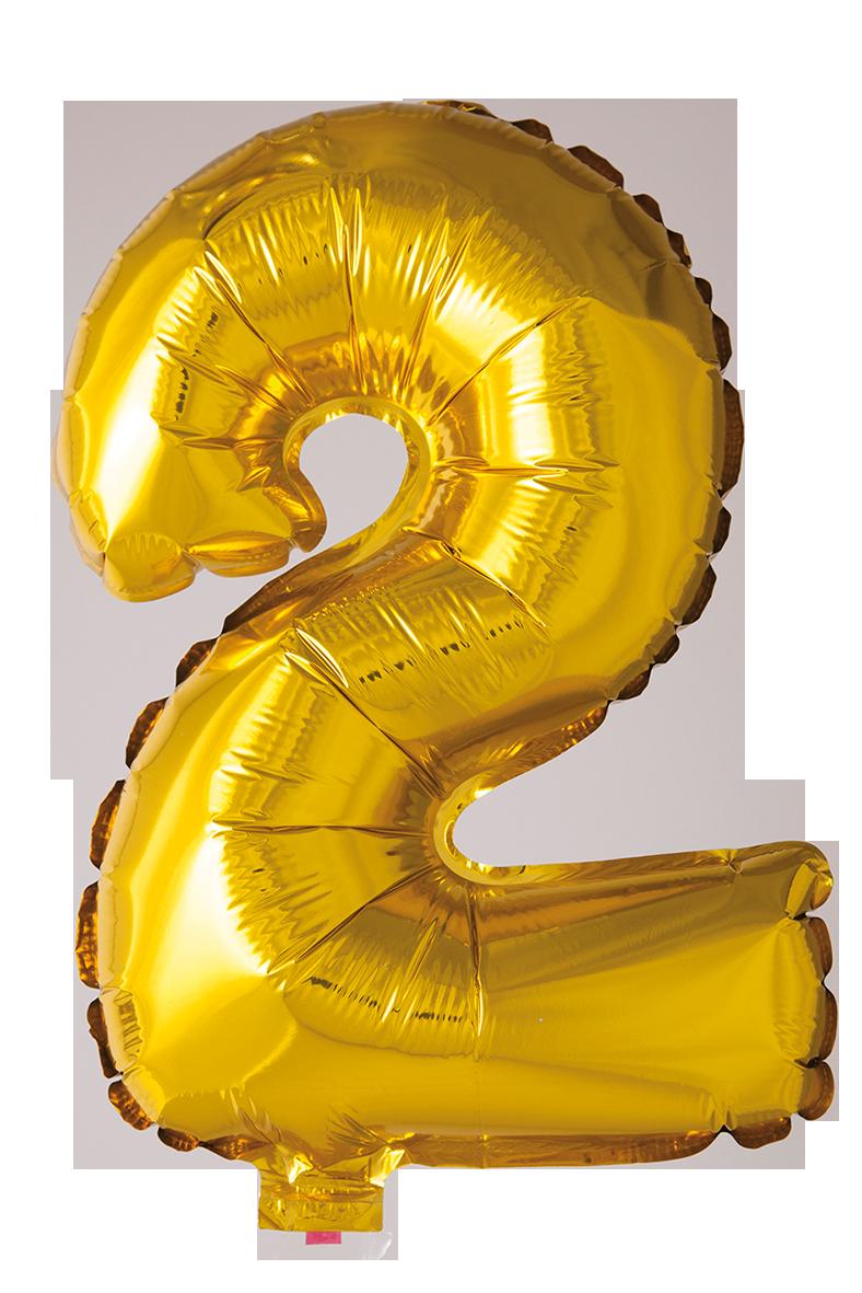 Folieballong102 cm siffra 2