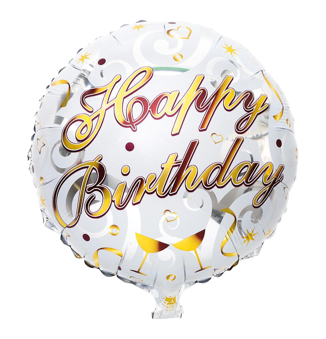 Folieballong Happy Birthday