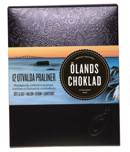 Ölands Choklad Utvalda praliner-ask