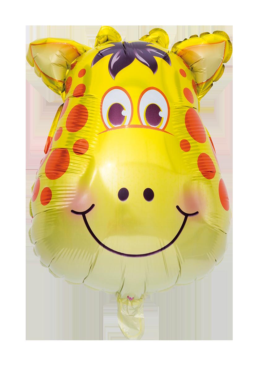 Folieballong Giraff