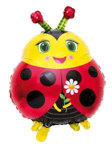 Folieballong Nyckelpiga