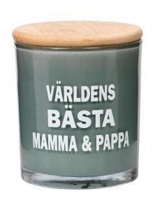 Doftljus Mamma och Pappa