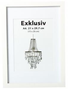Exklusiv Vit 13x18 (PP 9x13)