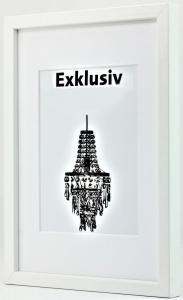 Exklusiv Vit 40x50 (PP 30x40)