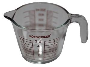 Måttkanna 0,5 liter