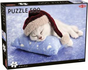 Pussel Christmas Kitten 500 bitar