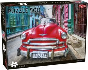 Pussel Vintage car in Havana 500 bitar